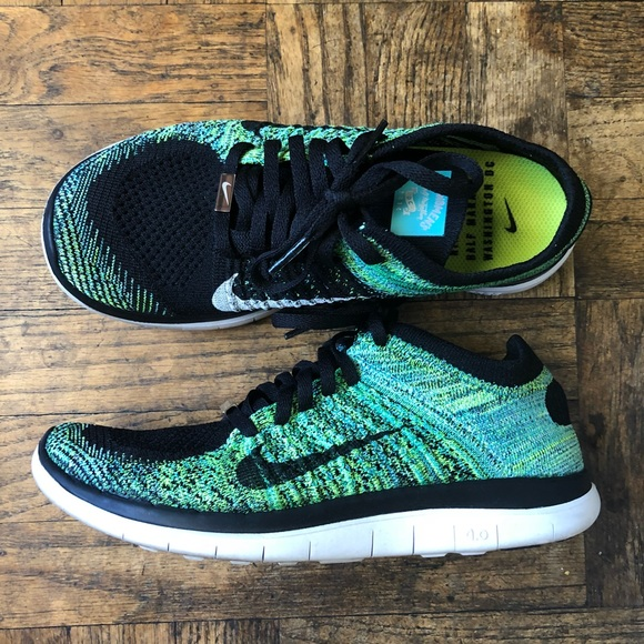 best loved f8e7c 2d30e Nike Free Run Flyknit 4.0 - Nike Women's Marathon